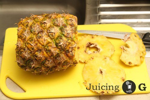 Juicing Pineapple on a Slow Juicer