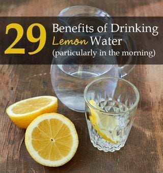 Drinking Hot Water With Lemon And Honey In The Morning
