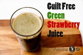 Green Strawberry Juice