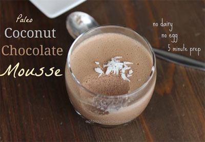 Paleo Coconut Mousse