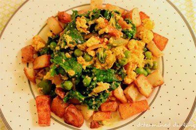 Vegan Breakfast Scramble