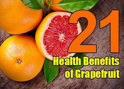 21 Health Benefits of Grapefruit