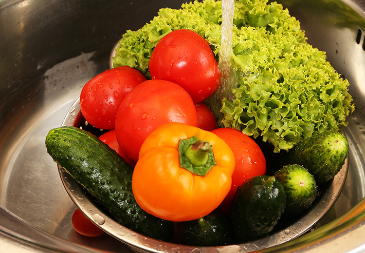 How To Wash Produce