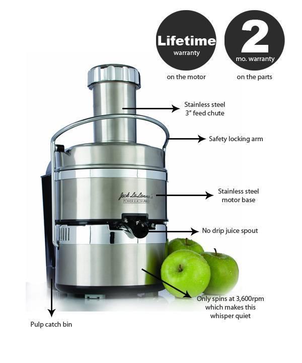 jack lalanne power juicer pro review ~ Entsafter Jack LalanneS Power Juicer