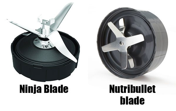 Comparing the blades of the Ninja and Nutribullet