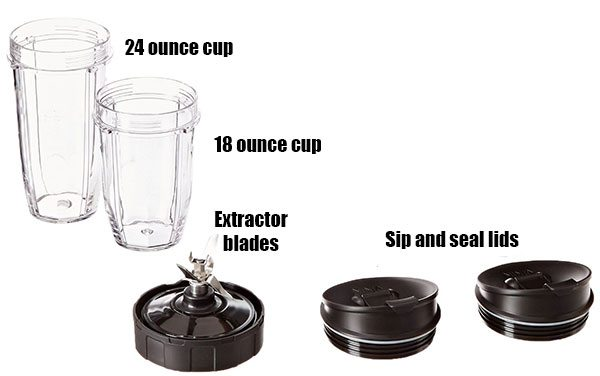 Nutri Ninja Pro Accessories