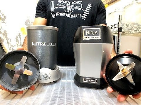 Nutri Ninja vs Magic Bullet Blade