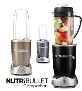 Nutribullet comparison