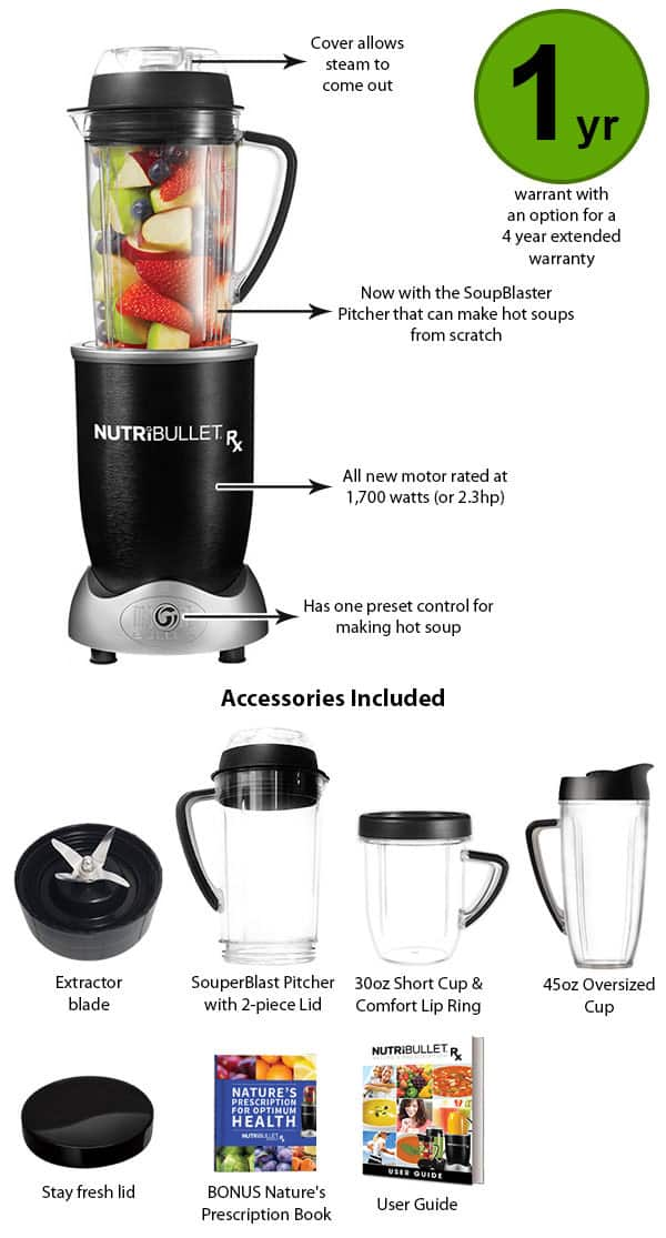 Nutribullet Rx Review The Most Powerful Nutribullet