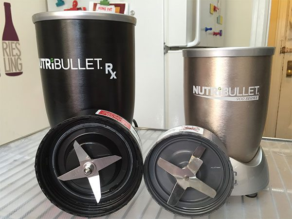 Comparing the RX and the old Nutribullet blades