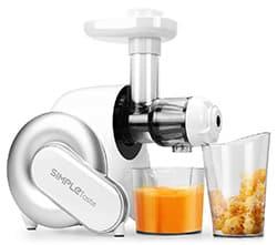 SimpleTaste Electric Masticating Juicer Review: Slow Juicer Under $100