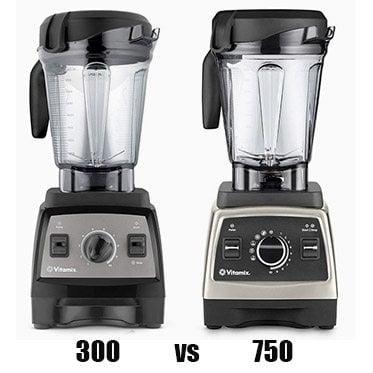 Vitamix 300 vs 750