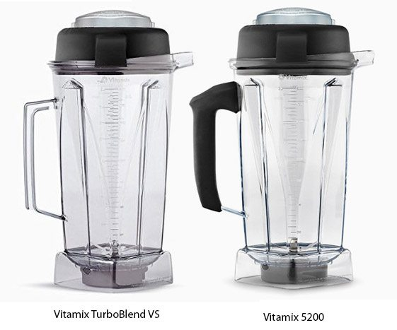 TurboBlend VS and 5200 pitcher